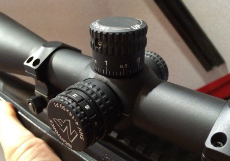 The open turrets are an outstanding feature, especially for professional shooters that need to stay on glass while making minor adjustments.