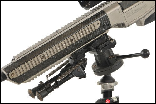 The APO RSTA-II is an excellent shooting platform that allows a wide range of rotational positions.