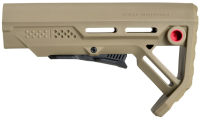 The FDE with red QD attachment option.