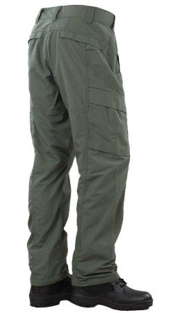 The back of the Urban Force TRU Pants showing a wide array of pockets for storing critical gear.