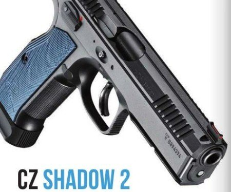 The CZ Shadow 2 maintains the dependability of the CZ 75 SP-01 Shadow, with grip enhancements, better sights, and slimmer controls. (photo by CZ)