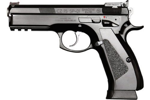The original CZ 75 SP-01 Shadow. (photo by CZ)