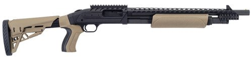 The new Mossberg 500 ATI Scorpion shotgun is an excellent choice for police officers.