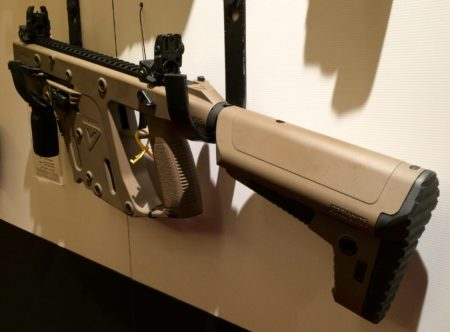 The new Kriss Vector II 9mm in FDE.