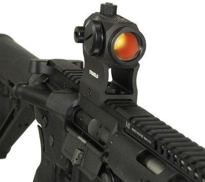 TRUGLO TRU-TEC 20mm optic with high riser.