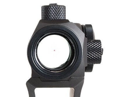 The 2 MOA reticle dot is a great feature of the TRU-TEC.