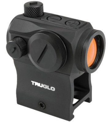 The new TRUGLO TRU-TEC 20mm red dot optic.