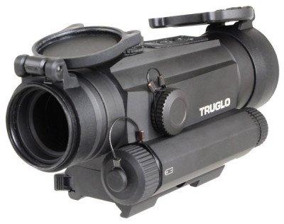 The TRUGLO TRU-TEC 30mm optic comes with a quick-detach mount.