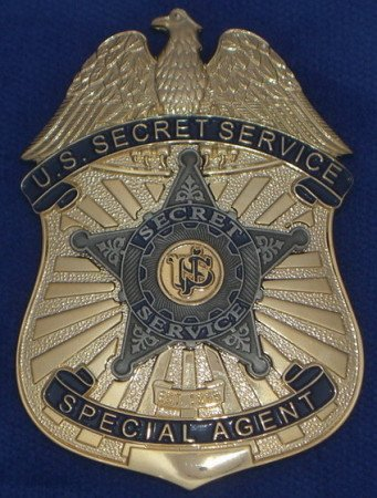 The U.S. Secret Service Special Agent badge.