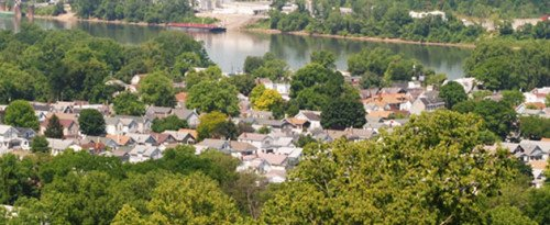 Ludlow, Kentucky lies along the banks of the Ohio River minutes from Cincinatti, Ohio.