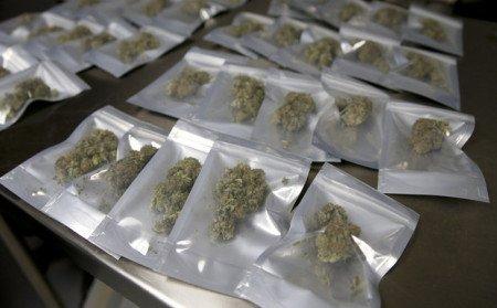 Marijuana packaged for sale (photo by nj.com).