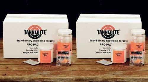 The Tannerite 2 Case Special is the company's most popular order, and has 24 pounds of explosives for $169.99.