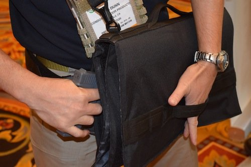 Concealable pockets provide discreet carry of pistols or other important items.