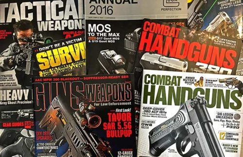 Harris Publications produced a wide range of firearm magazines.