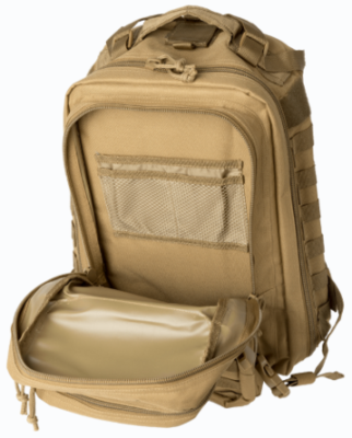 The secondary large compartment is