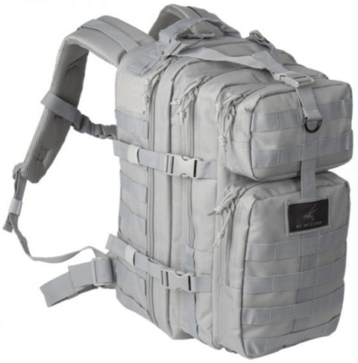 Exos Gear Bravo Series pack in gray.