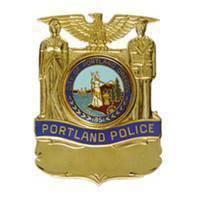 Portland, OR Police badge (photo by Portland Police).