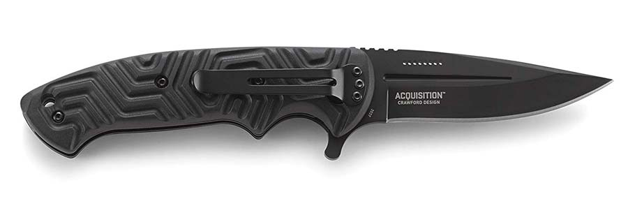 CRKT Acquisition Folding Knife for EDC Carry