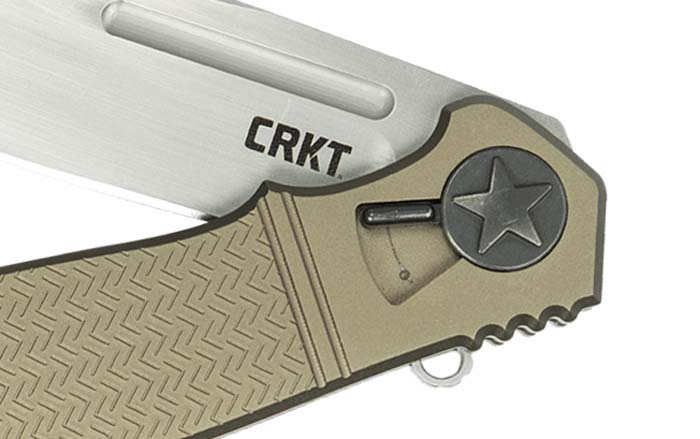 CRKT Roll Lock on Homefront EDC Knife