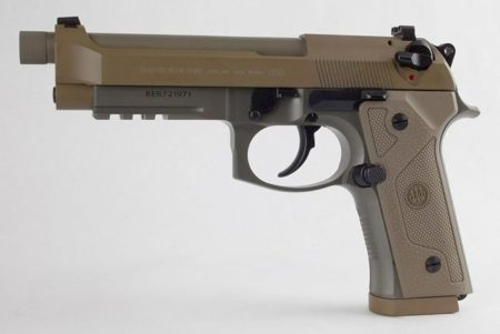 The Beretta M9A3 has seen limited service (photo by Beretta).
