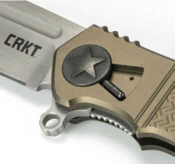 Using the iconic American Star lever, the field strip process can begin.