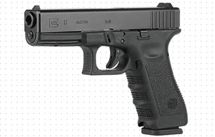The Glock 17 is one of world's most popular handguns (photo Glock).
