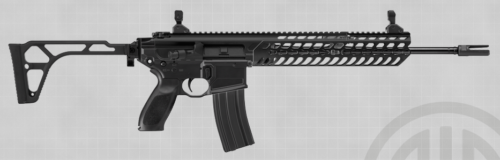 The terrorist used a Sig Sauer MCX (AR-15 style) rifle, which is unusual for its more expensive cost (photo by Sig Sauer).