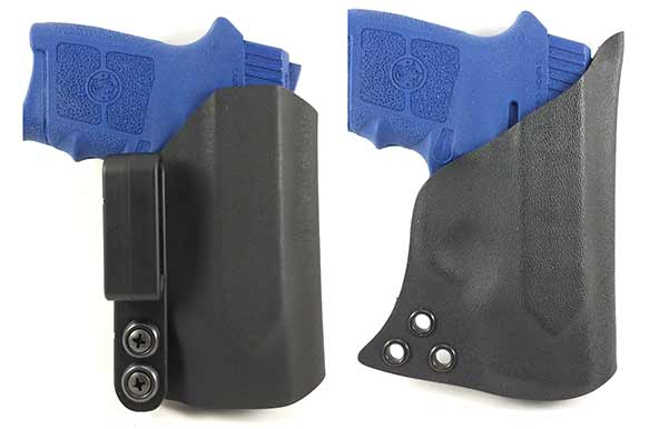 aiwb holster for the smith wesson bodyguard 380