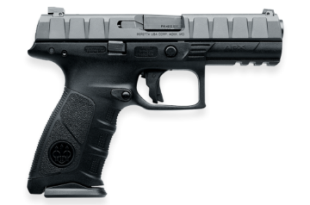 Beretta gave up on the M9 platform, and entered a striker fired APX instead (photo by Beretta Defense Technologies).