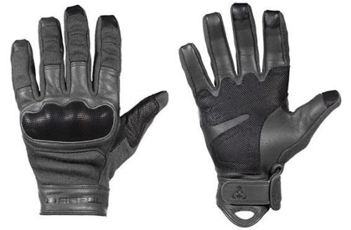 The FR Breach Gloves incorporate Nomex and Kevlar flash protection.