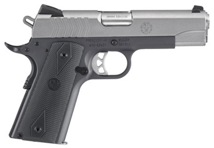 The new 9mm SR1911 is full of custom features.
