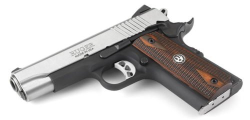 The new Ruger SR1911 Commander in 9mm.