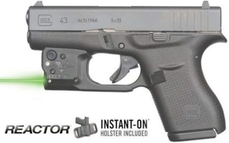 The Viridian R5 Reactor on the new Glock 43.