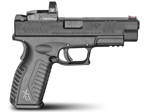 The new Springfield Armory XDM) OSP with Vortex Venom red dot optic.