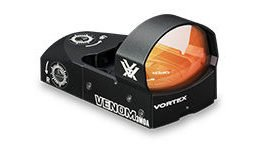 The Vortex Venom red dot optic.