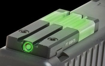 The FT Bullseye combines fiber optic and tritium illumination.