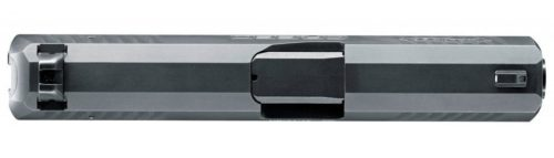 The Tenifer coated slide is topped off with 3-dot sights.