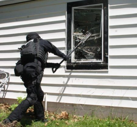 Windows are typically used for distractions, but can be a secondary entry point.