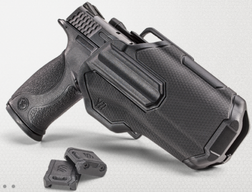 The new BLACKHAWK Omnivore multi-pistol holster.