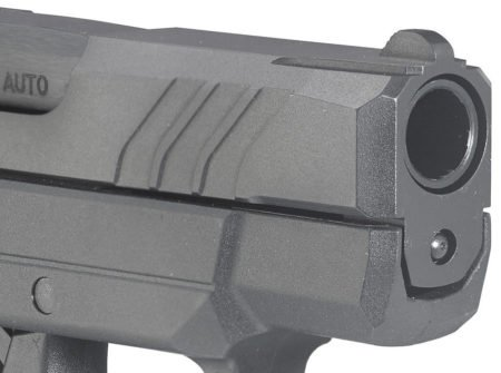 Front, angled slide serrations help complete the LCP II upgrades.