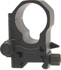 The Aimpoint Flipmount gives the shooter the fastest reflex or magnified selection.
