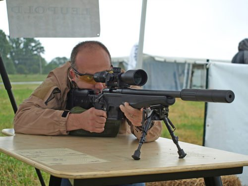Precision shooting is available with a wide range of rifles and optics.