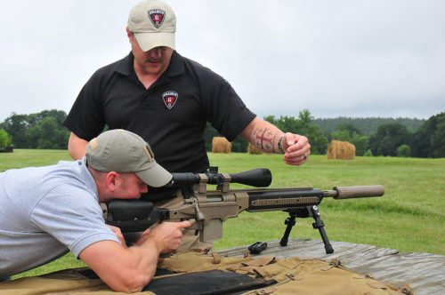 High skilled instructors hone the necessary skills for precision shooting.