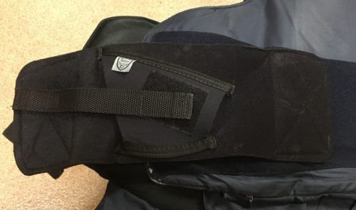 Telor Tactical Tagalong easily attaches to body armor.