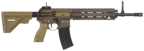 "The HK 416 with 14.5"" barrel configuration."