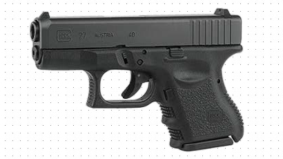 A Glock 27 was used as the back-up pistol during my testing (photo by Glock).