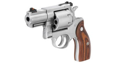 The 8-shot Redhawk .357 mag offers a lot of firepower.
