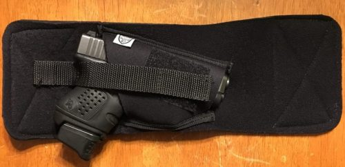 The Telor Tactical Tagalong ballistic armor holster.