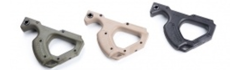 HERA CQR components come in black, tan, and green.