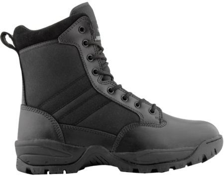 Durable nylon and leather make the TAC FORCE boots comfortable and protective.